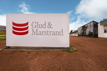 Glud & Marstrands produktionsafdeling i Hedensted