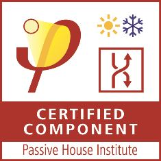 Passiv hus certificeret komponent