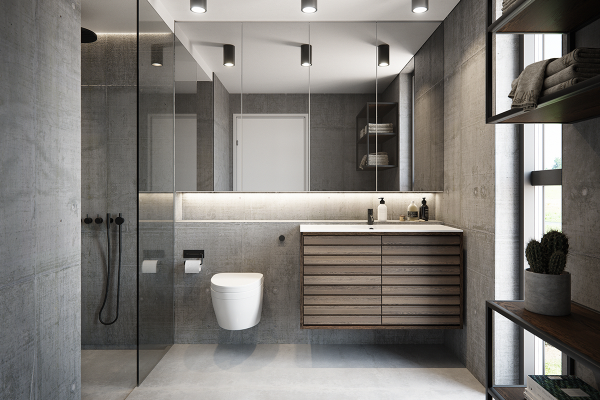 svane badeværelse Bad (Svane Køkkenet)   Byggematerialer.dk svane badeværelse