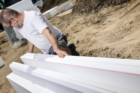 Bæredygtigt fundament fra Sundolitt tidsoptimerer byggefasen