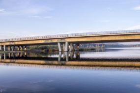 Broerne ved Funder, Gudenåen og  igennem Nordskoven