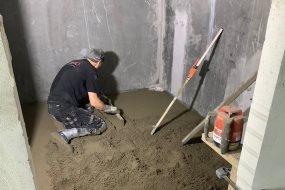 Cementbaserede slidlag