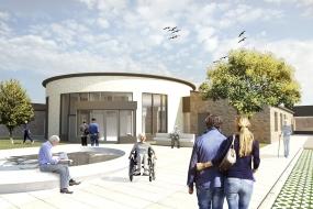 Dampspærre med armeringsnet valgt til 4200 m2 plejecenter på Mors