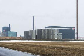 Det ny multibrændselsanlæg i Hjørring
