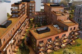 Et kæmpeprojekt vælger terracotta skærmtegl