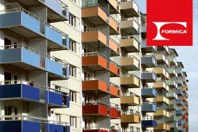 Farverige altaner med VIVIX® fra Formica Group