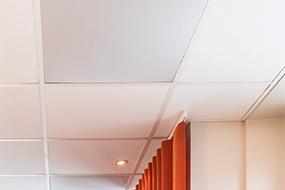 Fleksibelt loftpanel sikrer trækfri ventilation