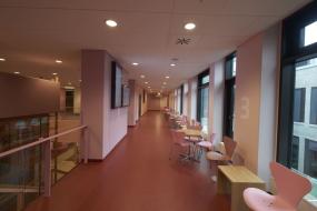 Fleksible fodlister i tilpassede farver til Psyk. Hospital i Skejby