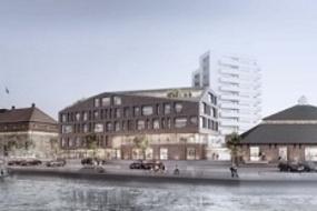 Geiserne i Horsens, opførelse af boliger