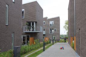 I Bellarækkerne sikrer boligventilationsanlæg et sundt indeklima