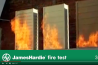 James Hardie Fire test