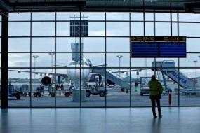 Københavns Lufthavn - Gangbro i terminal 3