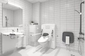 Køkkener og baderum til beboere med nedsat funktionsevne