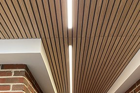 LED lys i lamellofter
