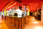 Ligro Lighting A/S: Eyeleds® i Mexican Grill restaurant