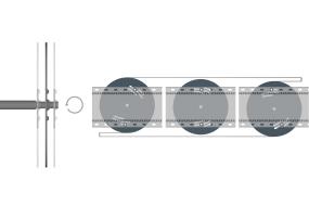 Meget fleksibel underkonstruktion til to-trins tættede facader