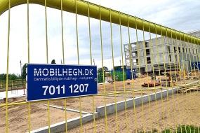 Mobilhegn.dk skaber rammerne på danske byggepladser