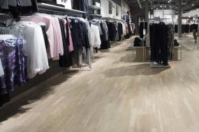 MQ Täby Centrum - nyt gulv