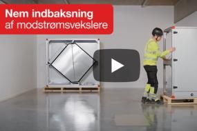 Nem indbaksning af ventilationsaggregater med Easy Access