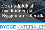Nye kunder på Byggematerialer.dk