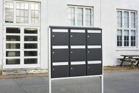 Nye postkassesystemer fra Allux