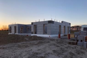 Nyt parcelhus i Sundolitt elementer
