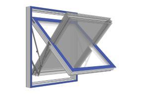 Nyt top-swing vindue i fiberkomposit
