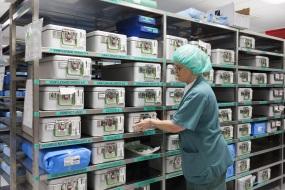 Opbevaringsløsninger til sundhedssektoren