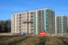 Opførelse af boliger i Søkanten