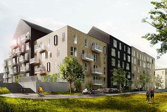 Opførelse af boliger og erhverv, Gellerup