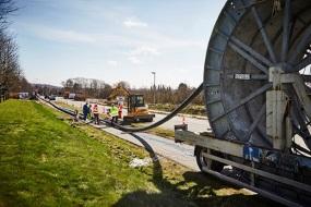 Randers – Underboring - Krydsning af E20
