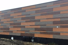 Robust antigraffiti-facade fra Rockpanel®