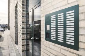 Siedle Classic betjener arkitekttegnede boliger i ny bydel i Aalborg
