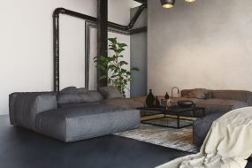 Skab rå og moderne gulve og vægge med SikaDecor®-801 Nature