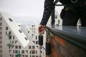 Sky-Work rådgiver Pakhusene i Århus Ø om rope-access