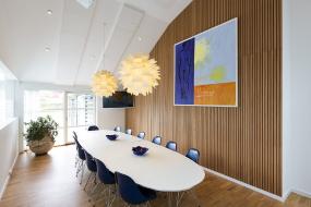 Støjdæmpende akustikbeklædning til loft og væg - Bolig Akustik by Profile