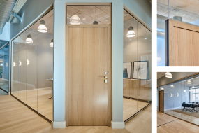 TRIPLAN Glasvægge – nyt WOOD-design