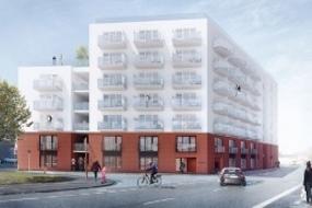 Ungdomsboliger ved Odense Havn, Tværkajen