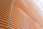 Unikt facadeprofil i Cor-Ten stål