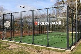 Vestjyllands første udendørs padel-bane