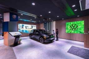 VW nye showroom i Industriens Hus
